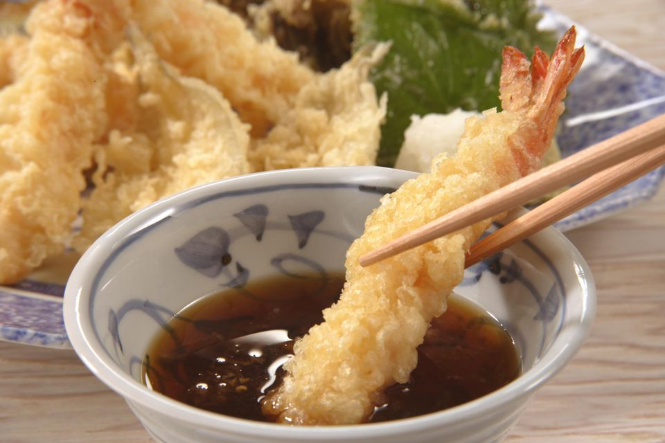 Fish and seafood tempura recipe for 0 5 japanese cuisine