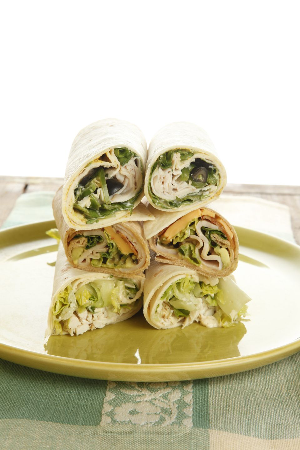 Build Your Own Wrap Lunch