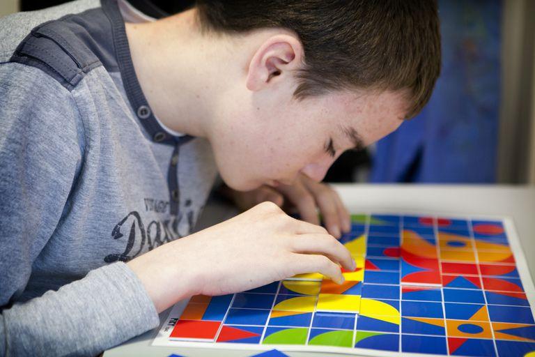 Autistic adolescent