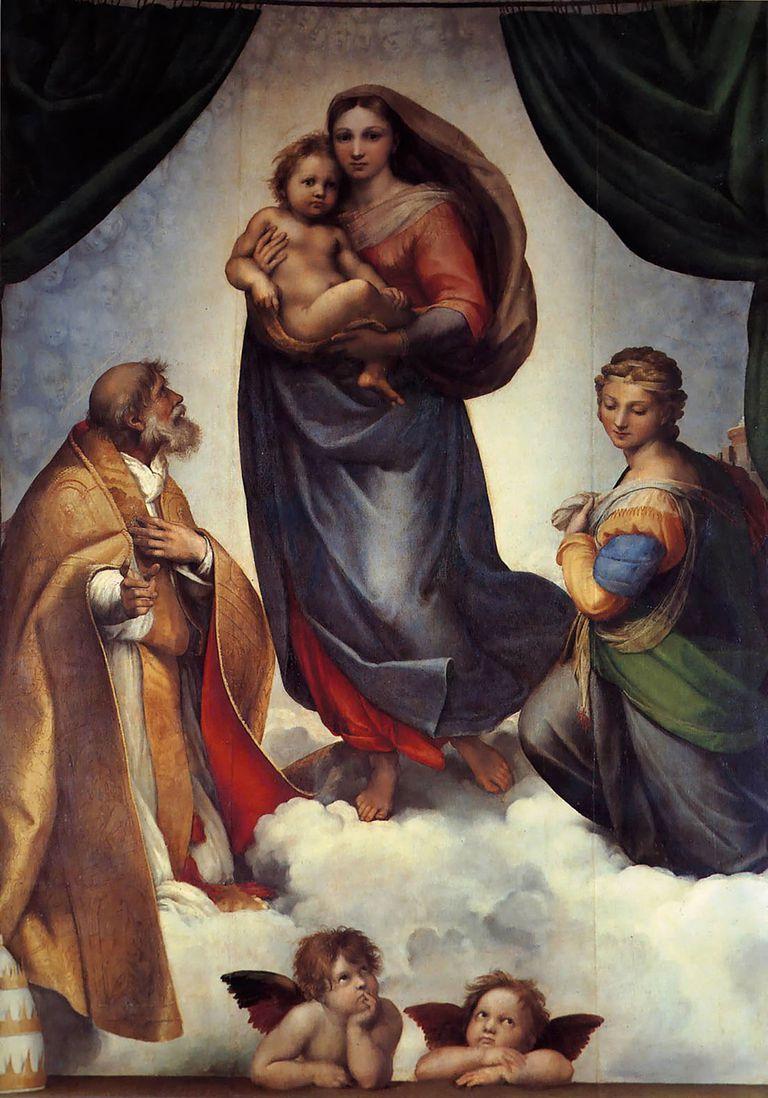 Raphael - The Sistine Madonna, ca. 1512-14