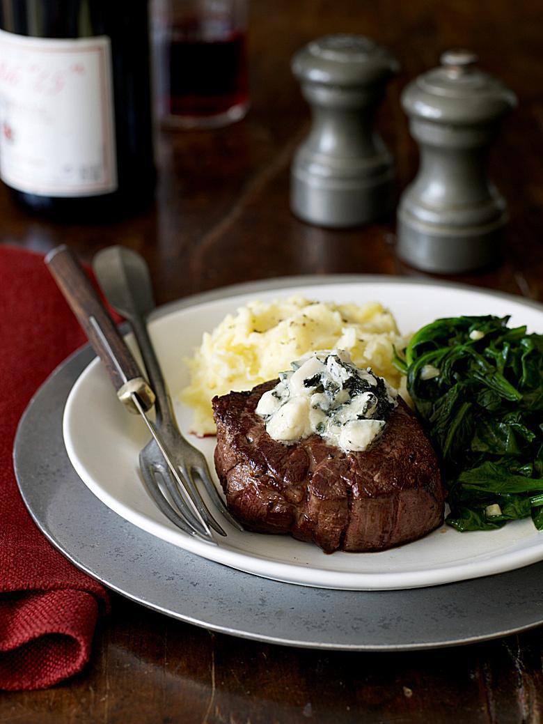 Blue Cheese Steak Topper