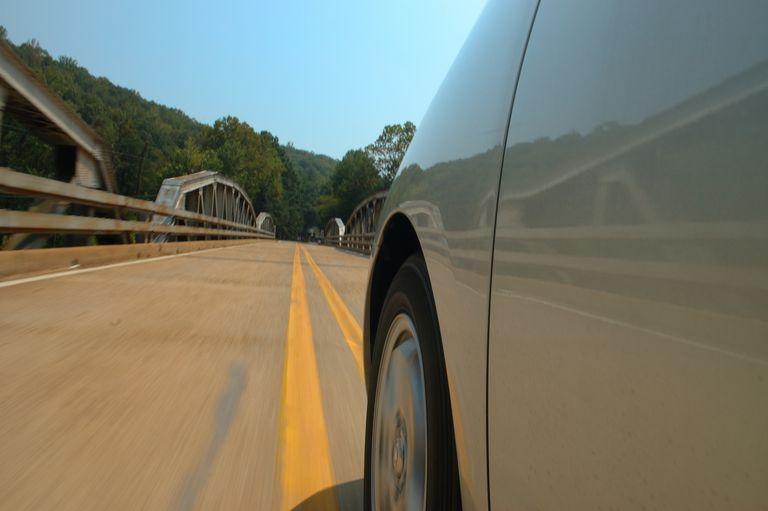 Toyota Tire on Bridge