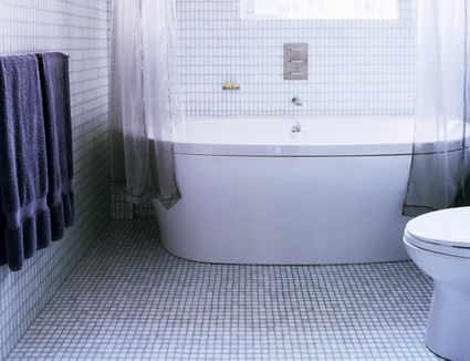 The Best Tile Ideas for Small Bathrooms. Kitchen Floor Tile