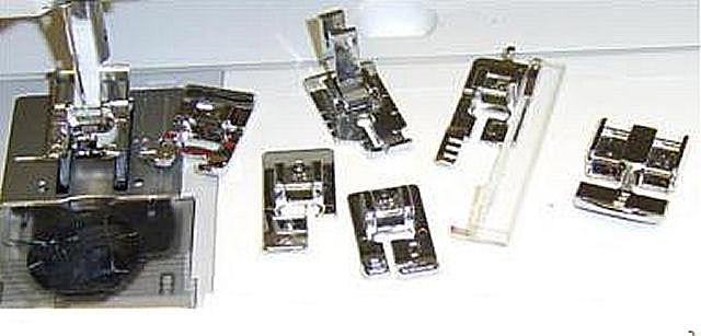 sewing machine presser foot collection