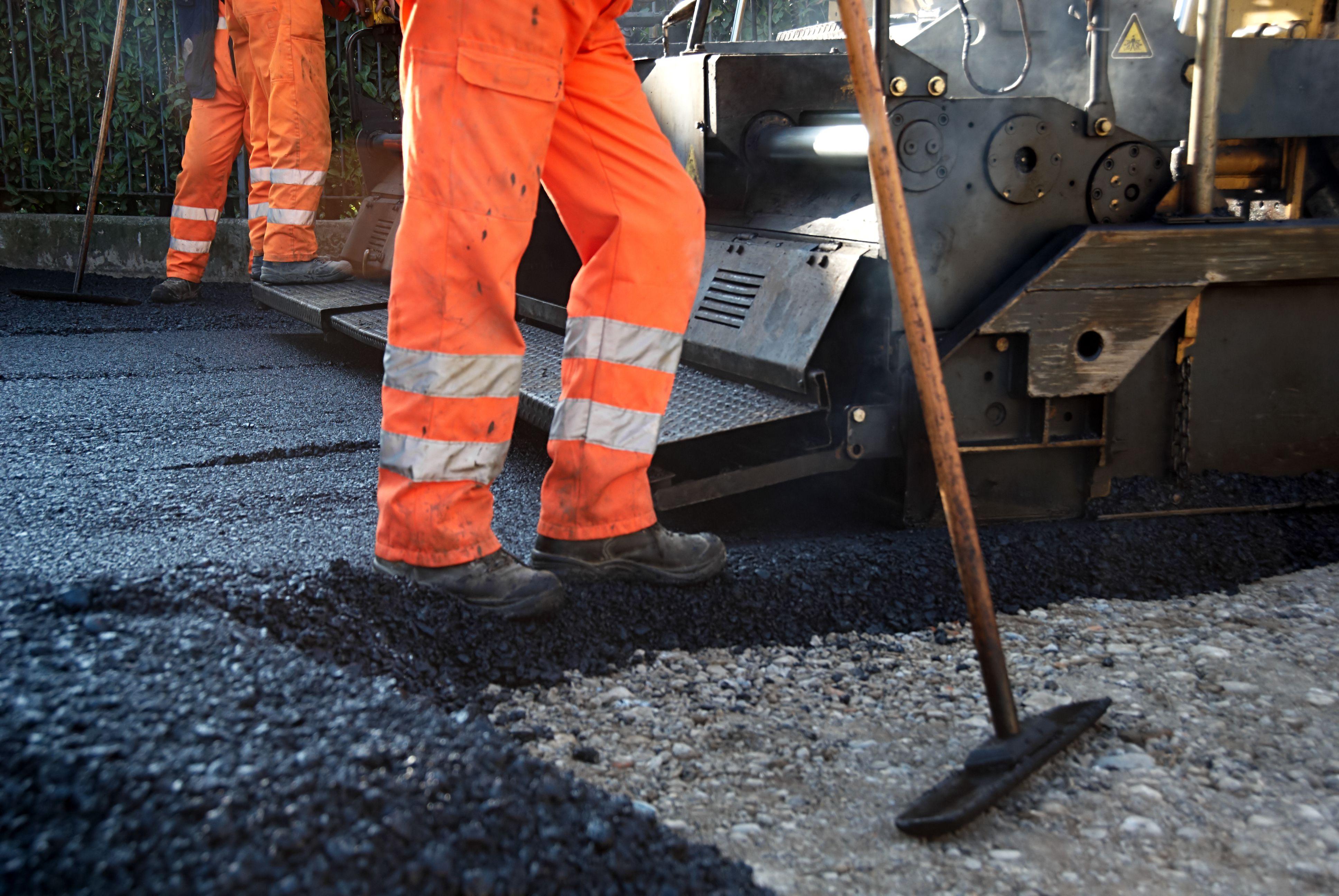three hot mix asphalt types