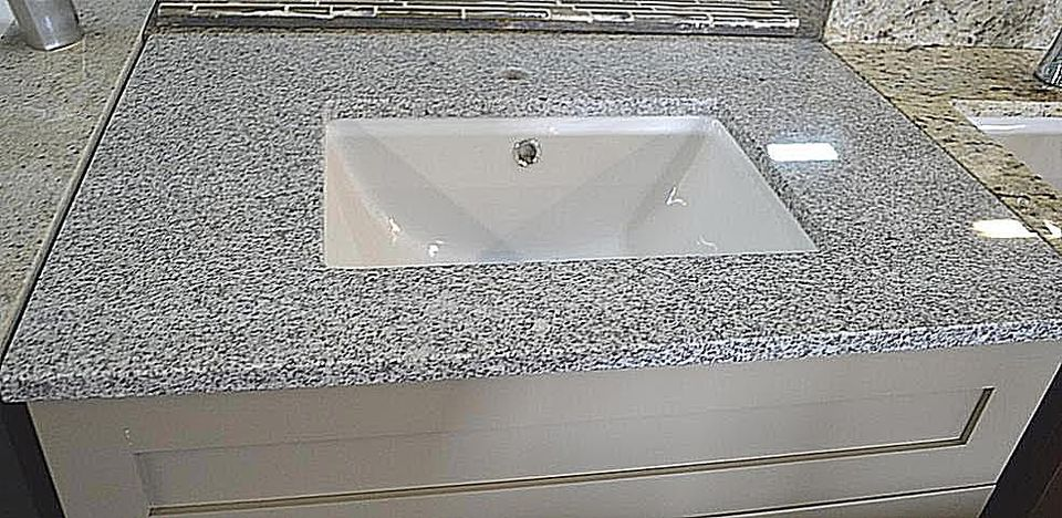 white countertops granite projects countertop zoom bathroom custom cotton stone