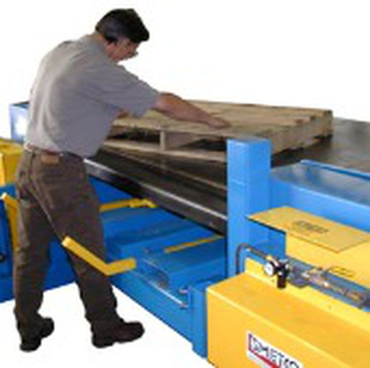 . Pallet Dismantling or Disassembly Equipment
