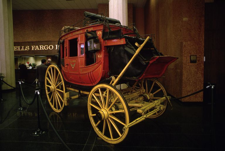 Carriage in Wells Fargo History Room