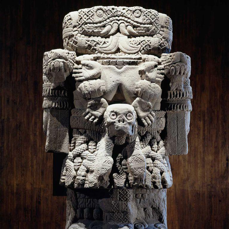 Coatlicue: Aztec Earth Goddess