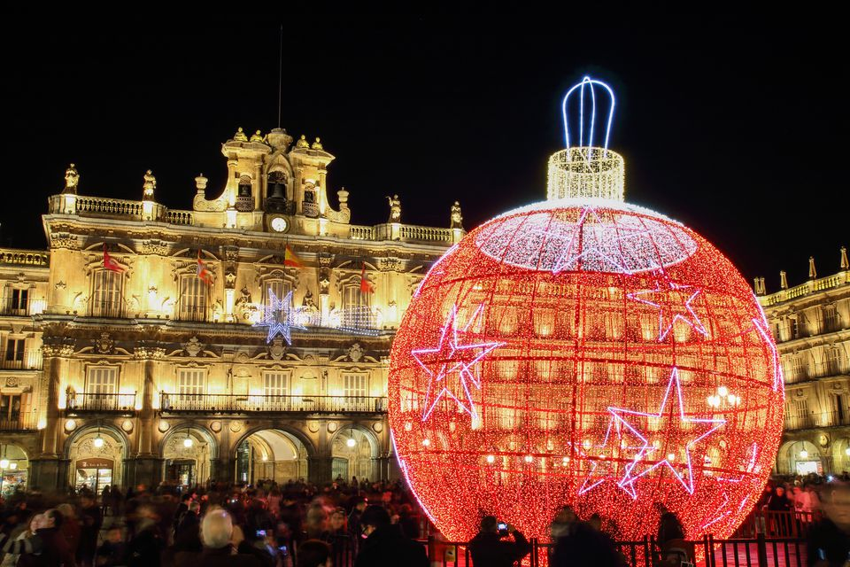 Christmas on Plaza Mayor