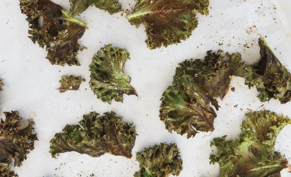 Raw vegan kale chips are a great idea for using your dehydrator!