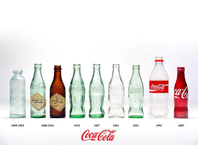 coke bottle chronology