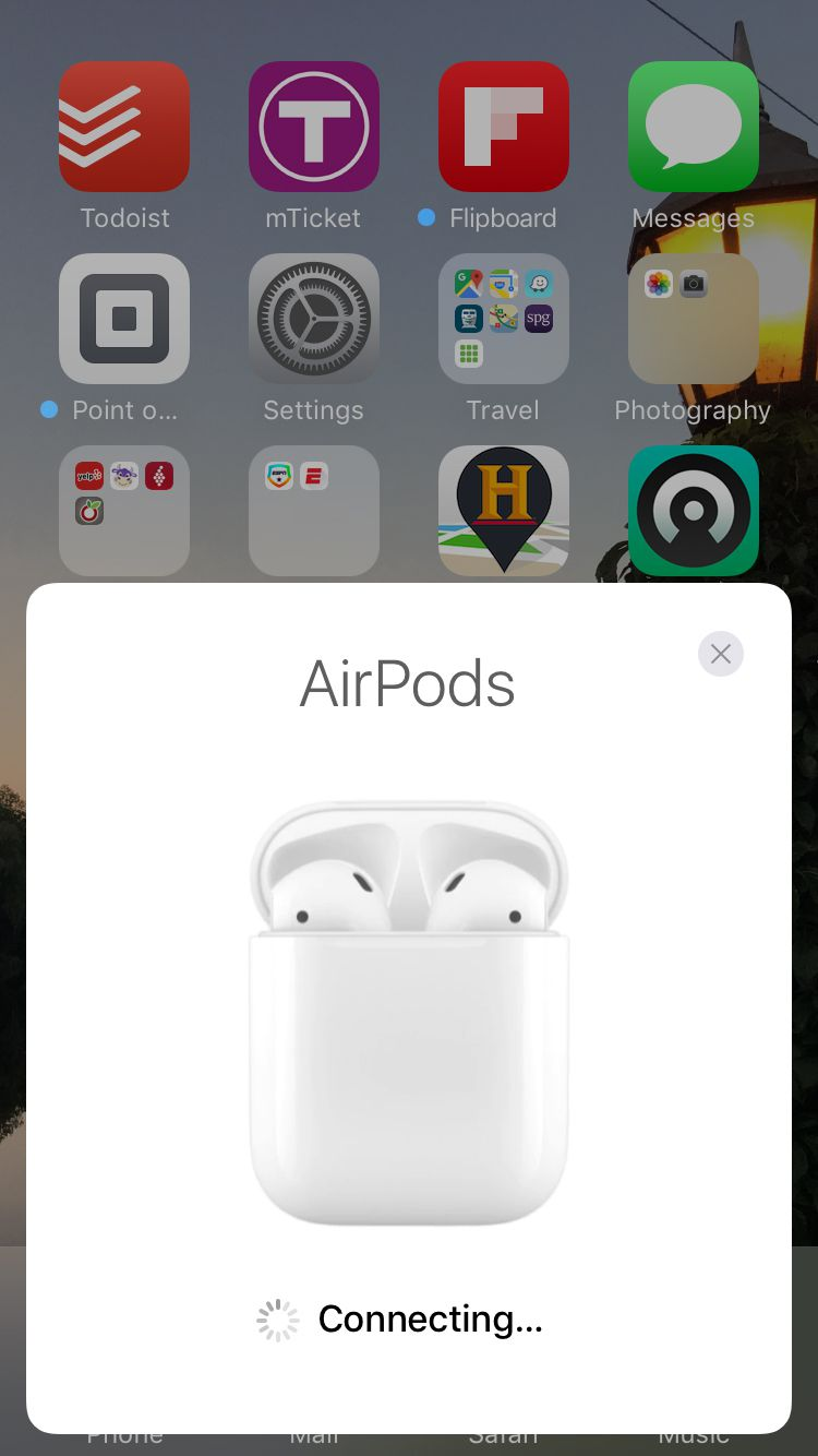 set up apple airpods