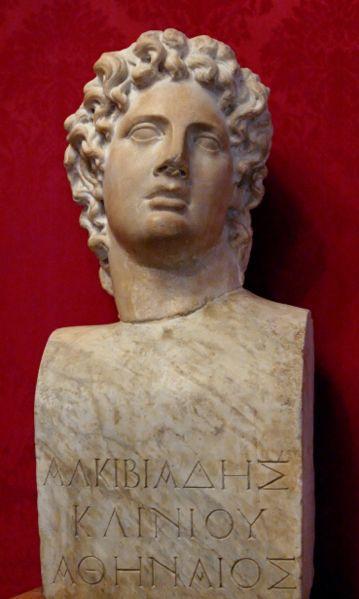 Musei Capitolini, Rome, Italy Alcibiades Bust