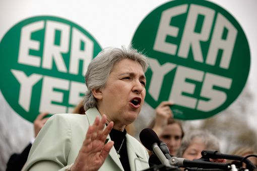 Ellie Smeal at 2012 Rally for 40th Anniversary of Congressional Passage of the ERA