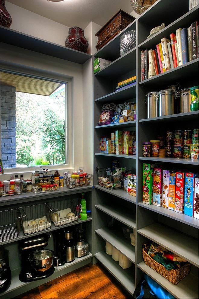 kitchen pantry. Dark Kitchen Pantry Ideas to Help You Organize Your