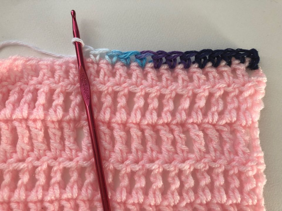 Single Crochet Edging