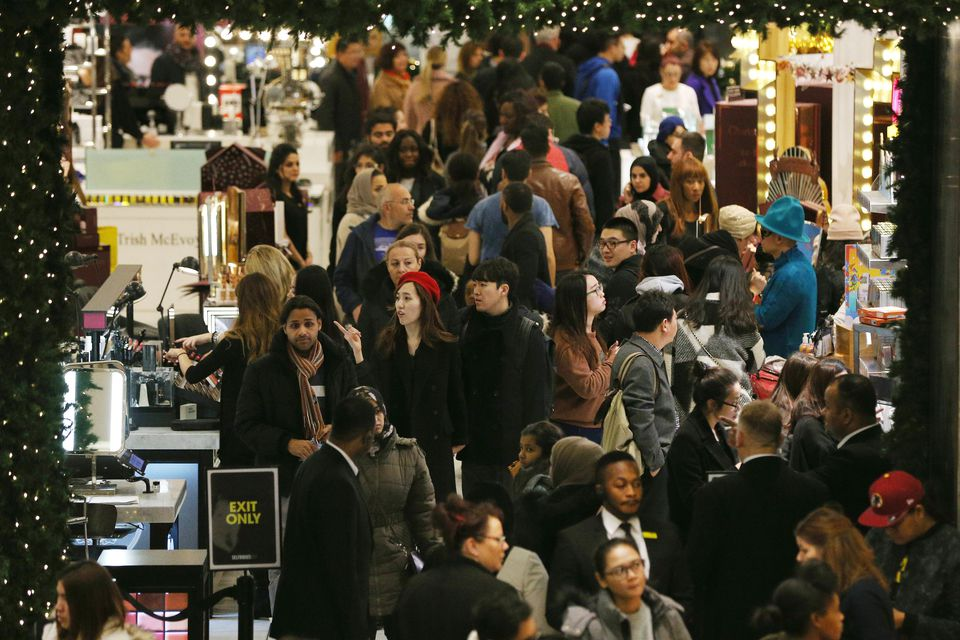 Boxing Day Shoppers Hit The Sales