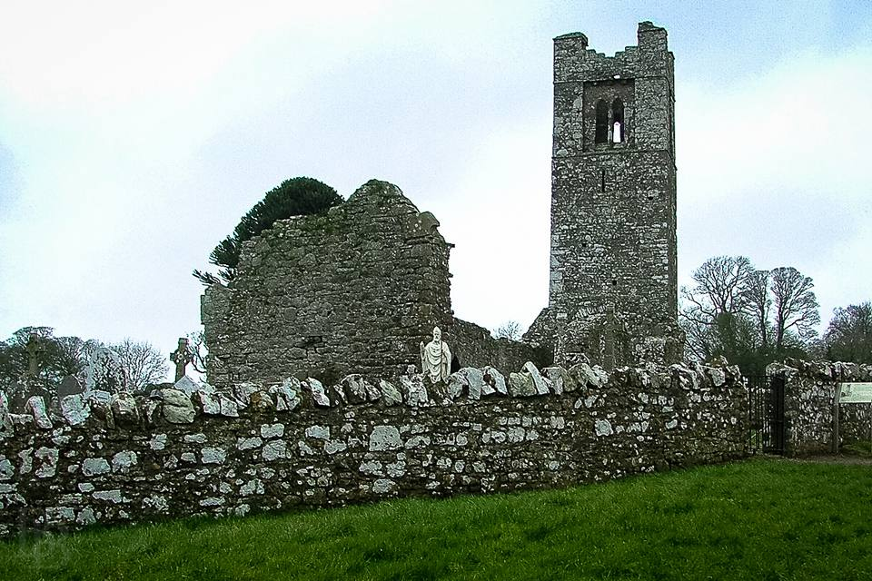 The Hill of Slane in County Meath