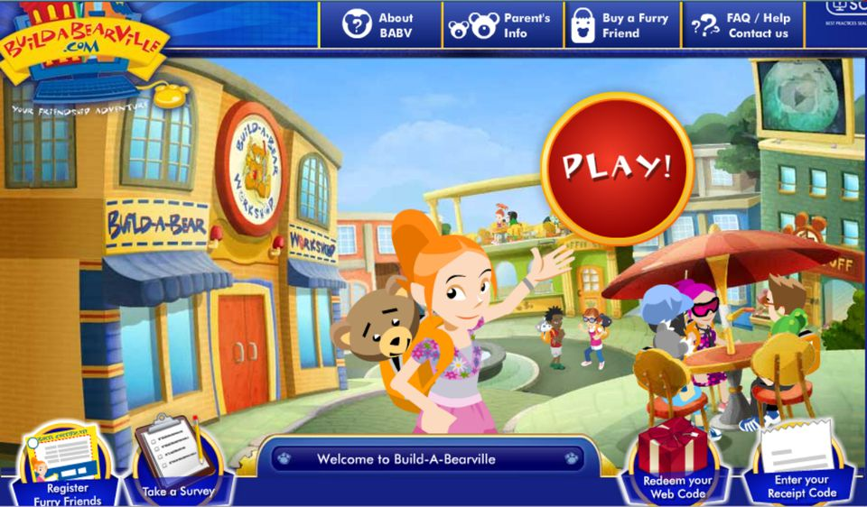 Free online activities and services for kids for Free virtual builder