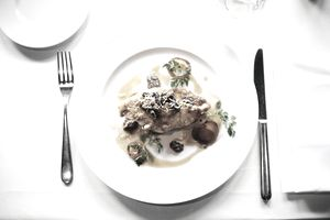 A restaurant dinner menu is a balance of taste and cost