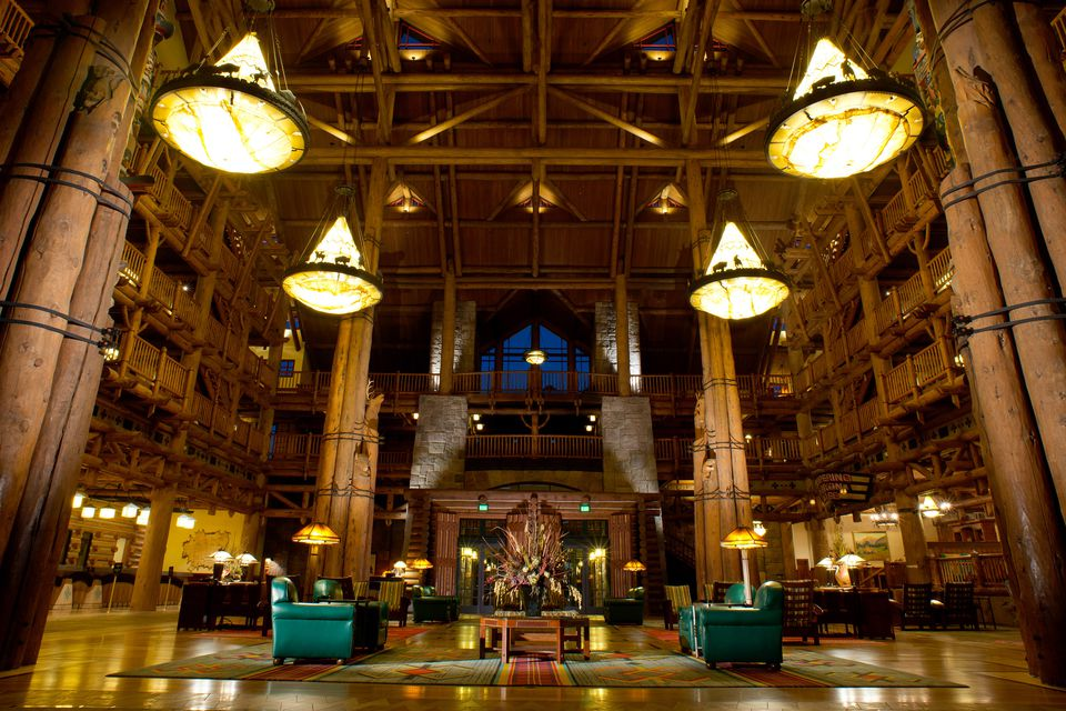 The Wilderness Lodge Lobby