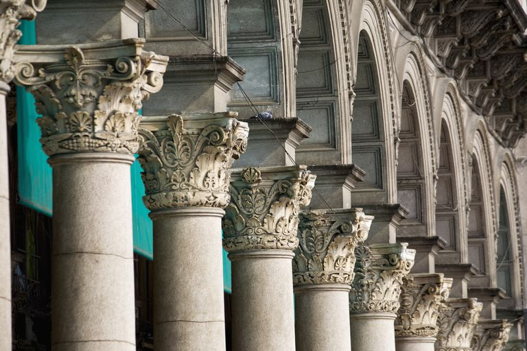 Looking For Stone Columns : Popular column types from greek to postmodern