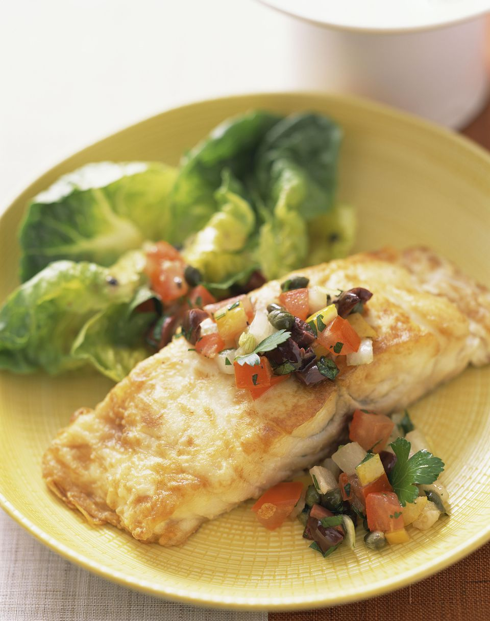 Tilapia with avocado recipe is simple and tasty for Fish tilapia recipe