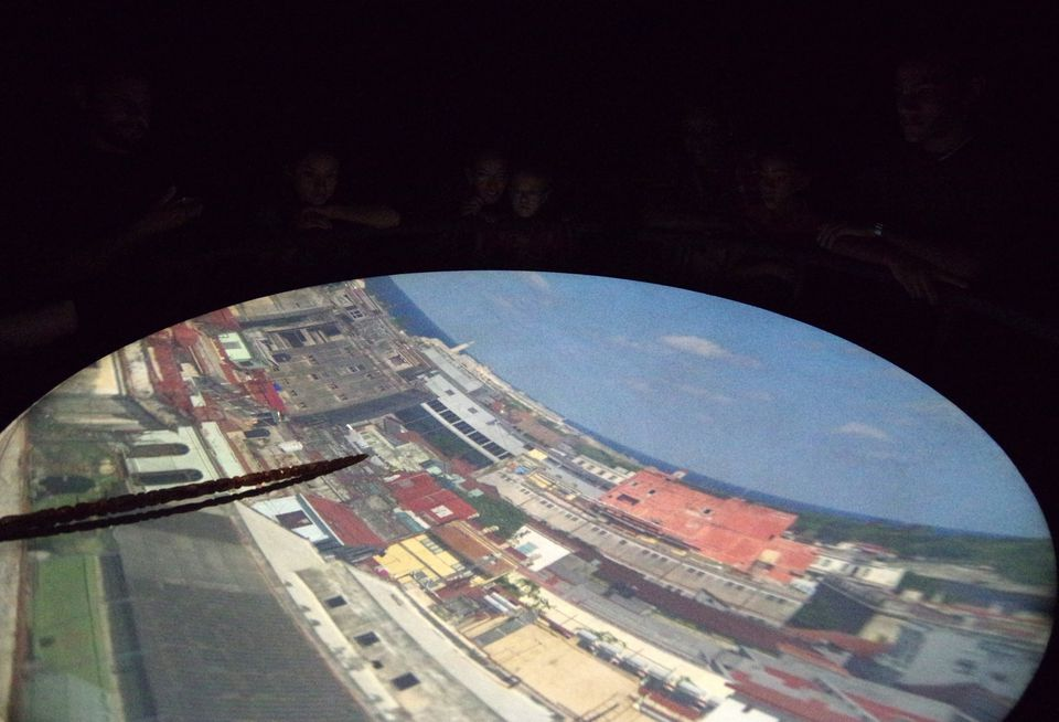 Havana city via Camera Obscura
