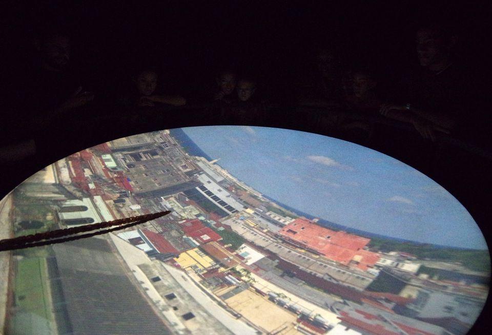 Havana city via Camera Obscura