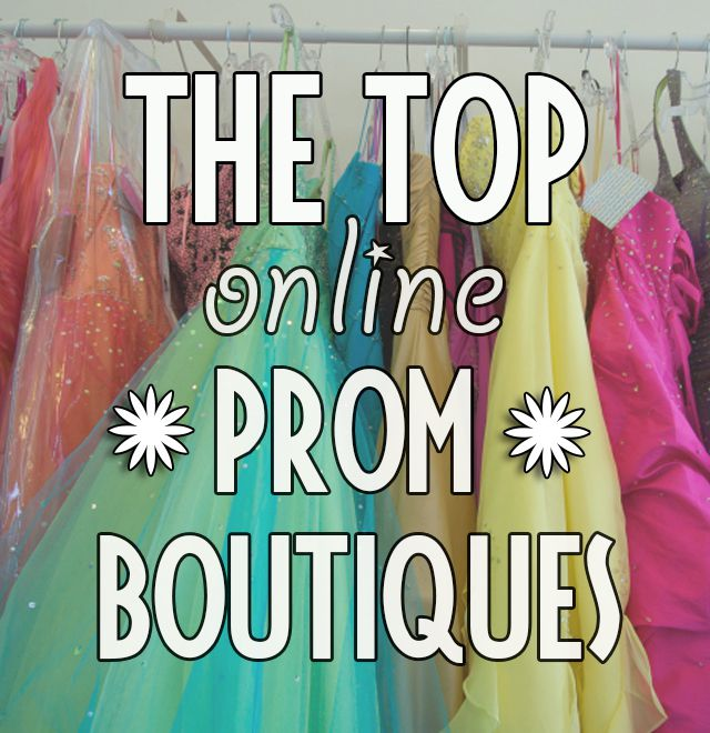 Top Online Prom Boutiques