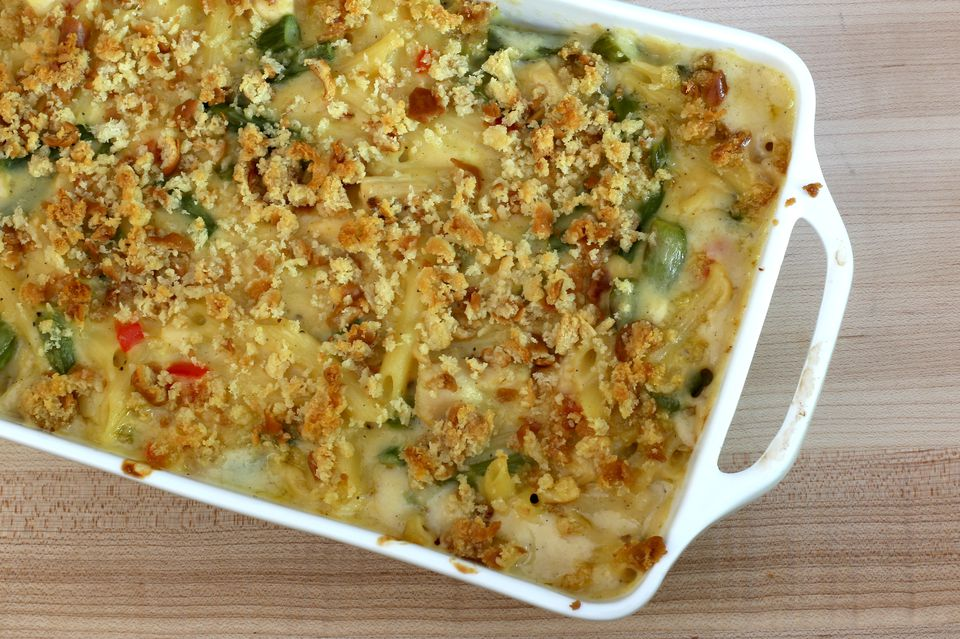 Chicken Casserole With Crumb Topping