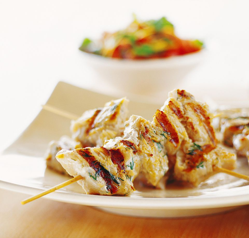 Moroccan Fish Kebabs