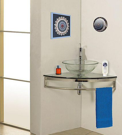 Killer Small Bathroom Design Tips - Oversized bath towels for small bathroom ideas