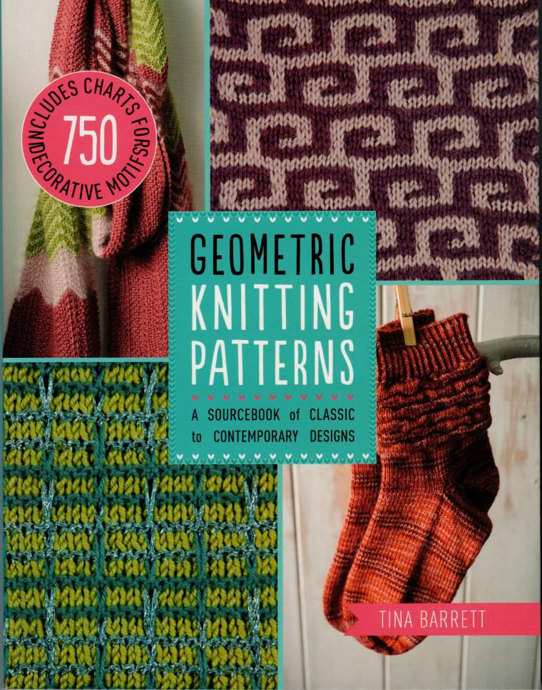 get inspired with 750 geometric knitting charts