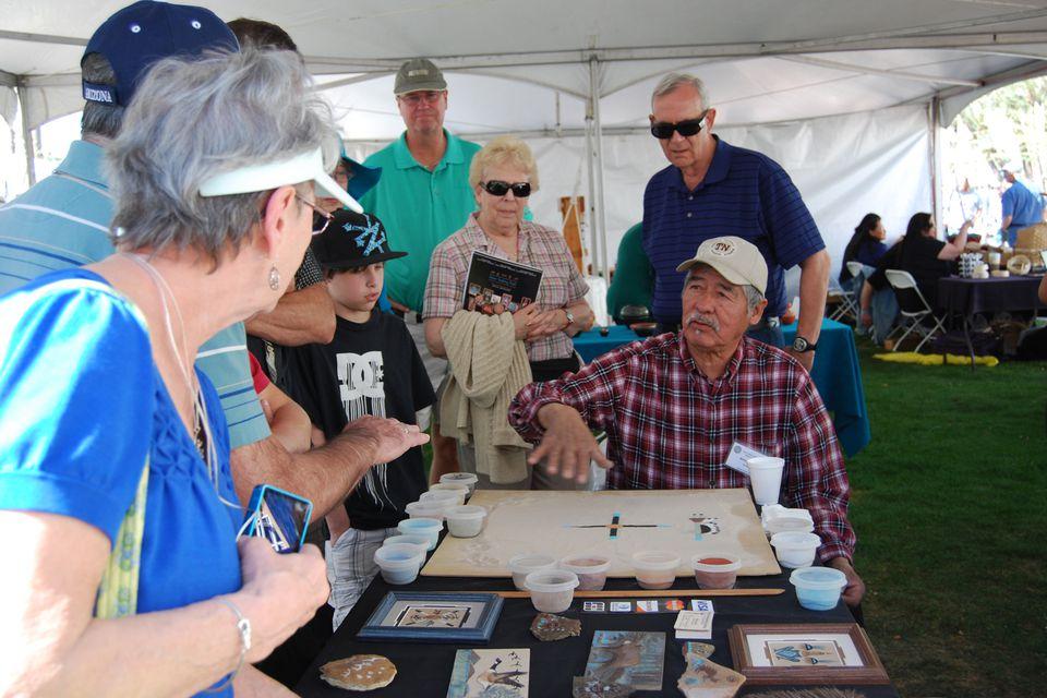 Heard Museum Indian Fair & Market in Phoenix, Arizona