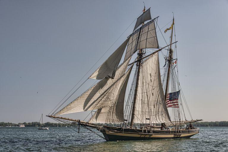 Pride of Baltimore, replica of Baltimore clipper