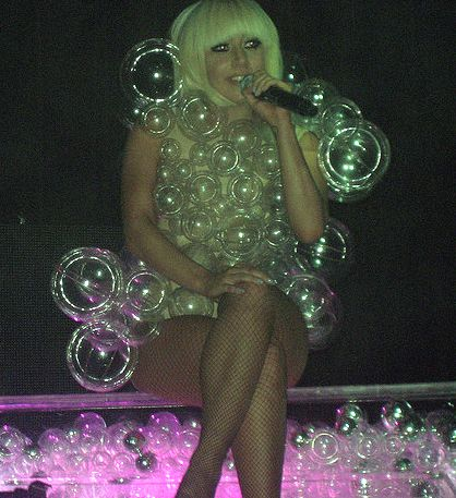 Lady Gaga Bubble Costume