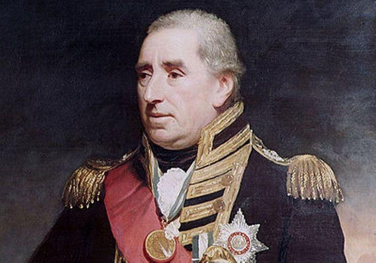 Admiral Sir John Duckworth during the Napoleonic Wars