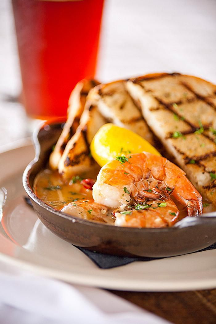 Grilled Shrimp and Citrus Stew