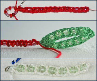 Beaded Crochet Examples
