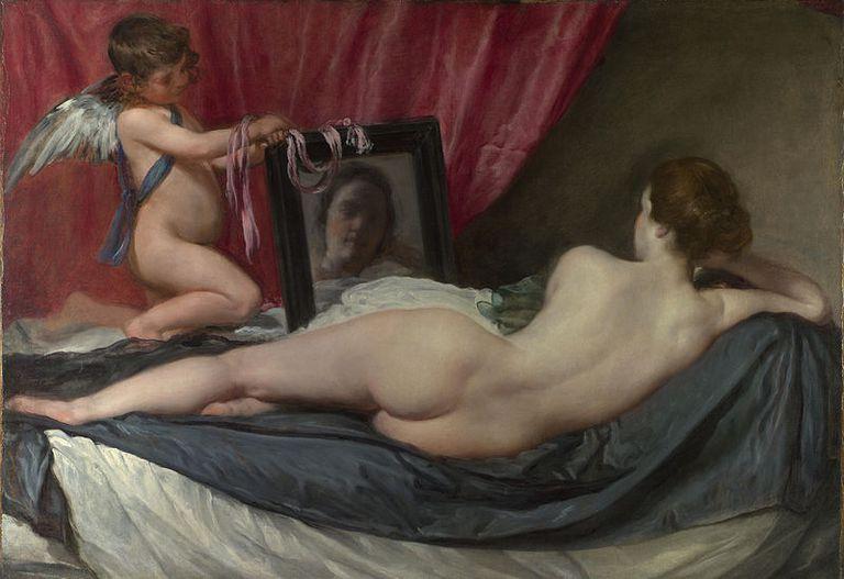 'La venus en el espejo', de Diego Velázquez.