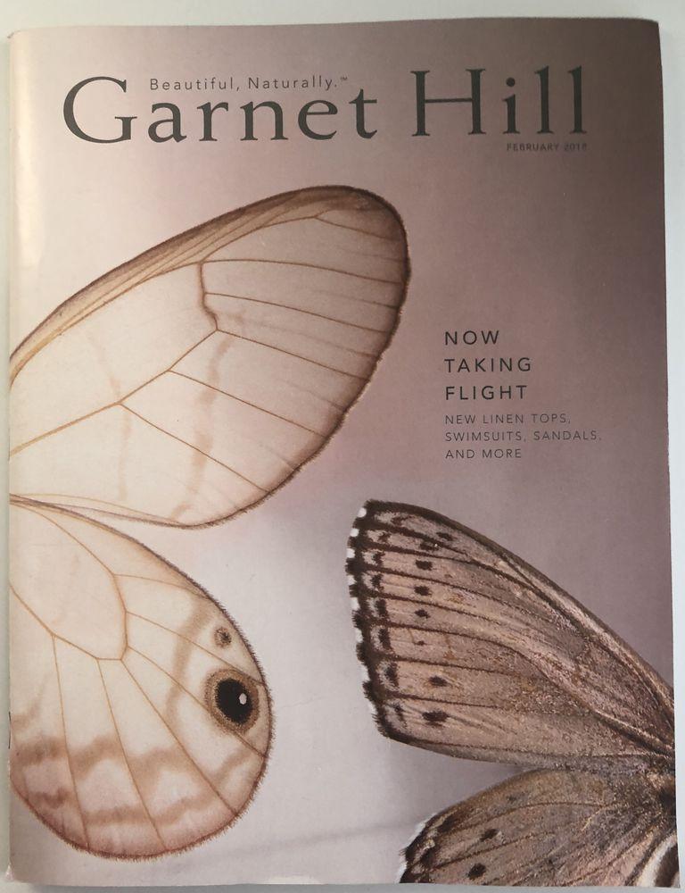 The 2018 Garnet Hill catalog