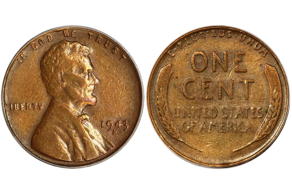 1943 Bronze/Copper Lincoln Cent