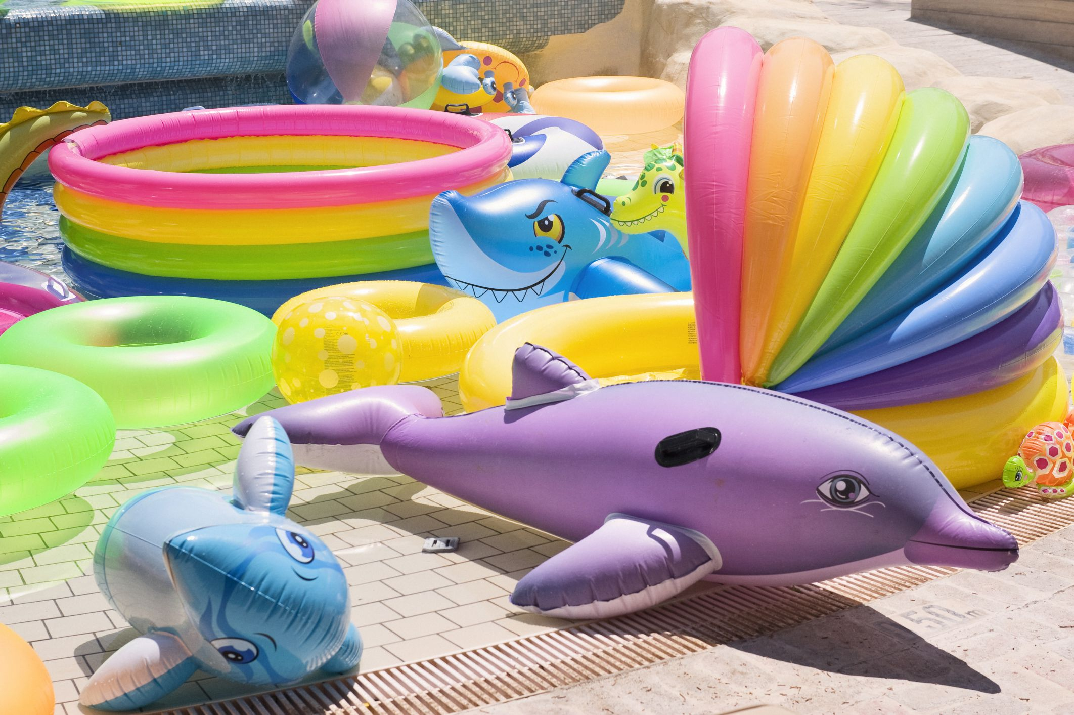 Unique Pool Toys And Games