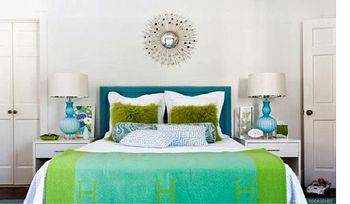 Blue Bedroom Decorating Tips And Photos - Blue bedroom color scheme