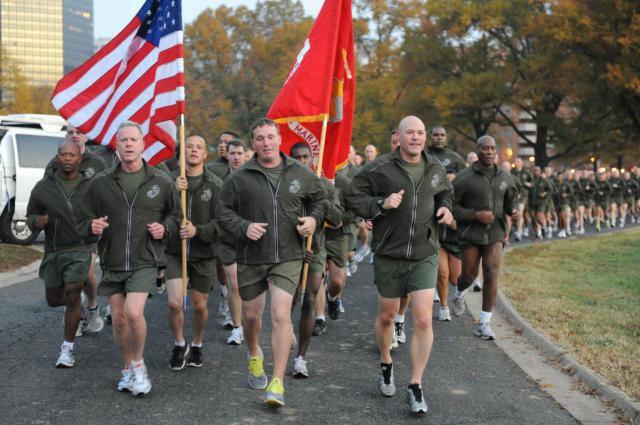 Marine Corps Birthday Run