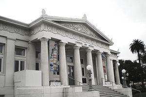 Carnegie Art Museum in Oxnard, California.