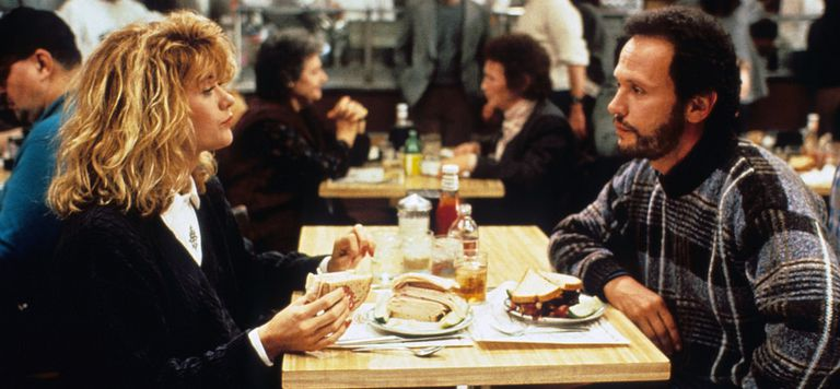 Scene from When Harry Met Sally