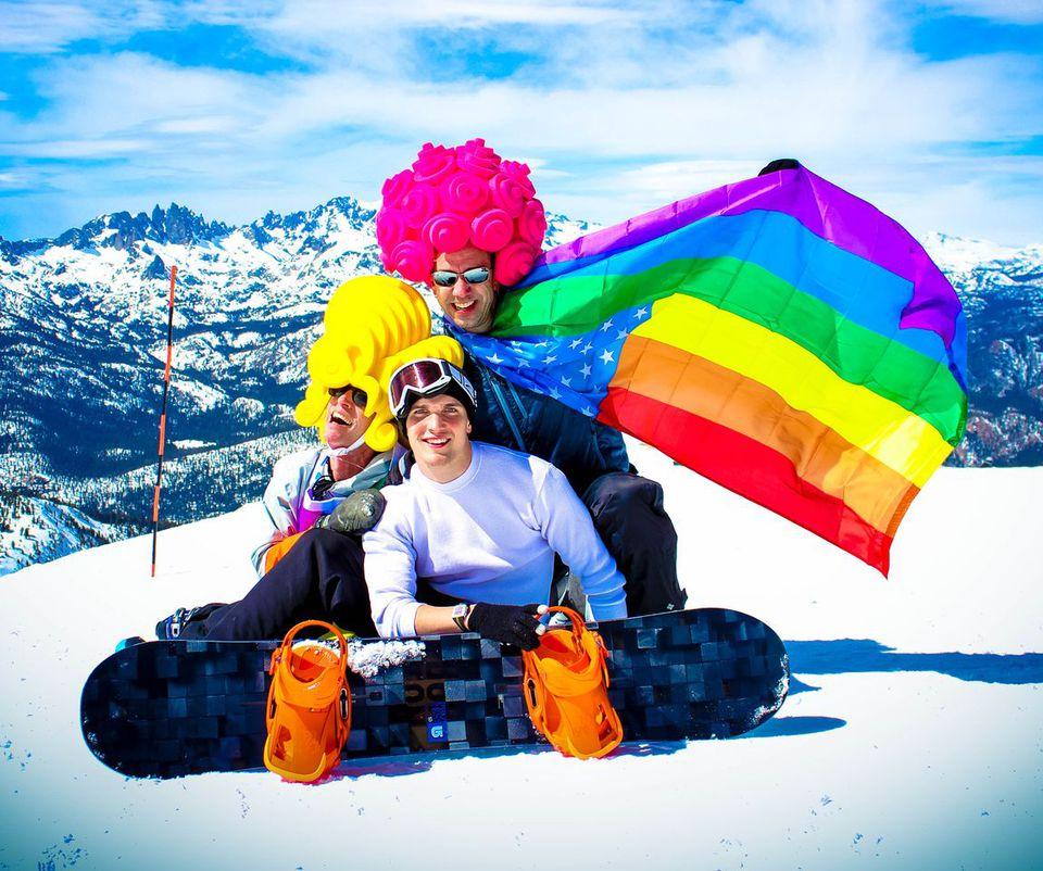 Elevation Mammoth Gay Ski Week